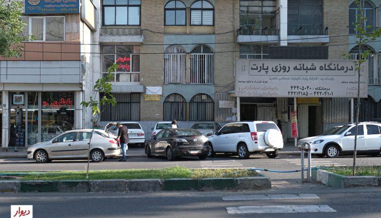 عکس خیابانی در محله ستارخان