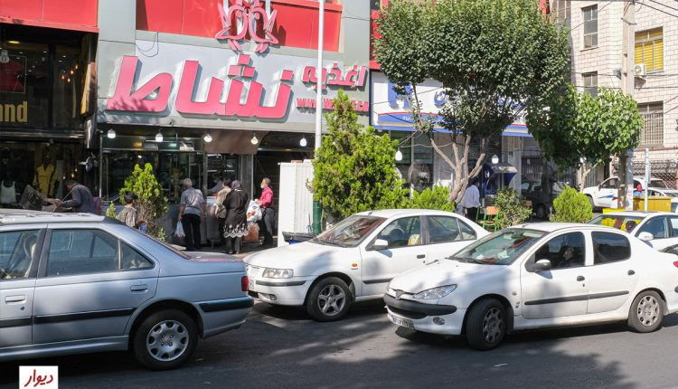 عکس خیابانی در محله ستارخان تهران