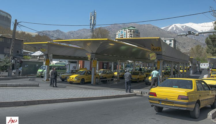 پایانه تاکسی میدان تجریش