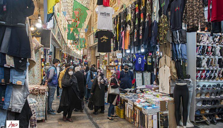 بازارچه پوشاک بازار تجریش