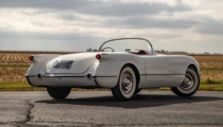 نمای پشت شورلت کورت مدل 1953