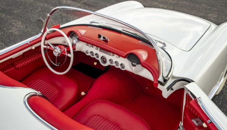 نمای داخلی شورلت کورت مدل 1953