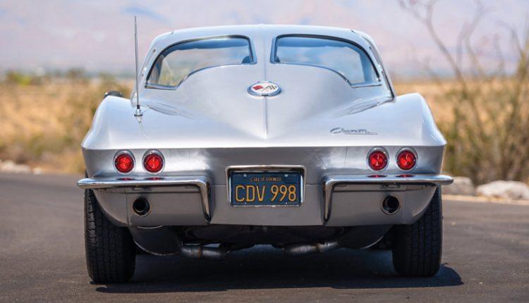 نمای پشت شورلت کورت مدل 1963