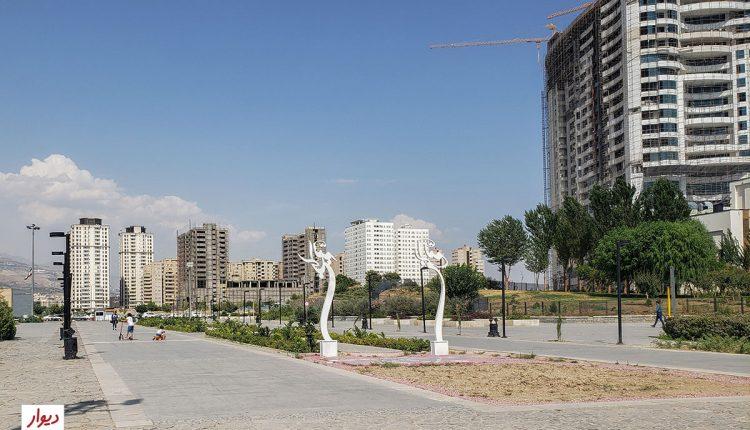 عکس محله چیتگر تهران