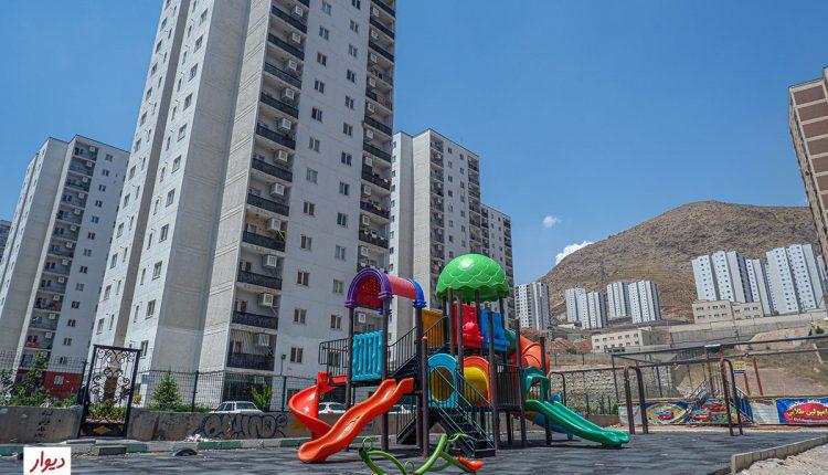 پارک بازی در شهر جدید پردیس تهران