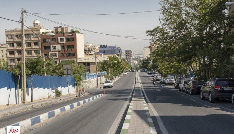 خیابانی در ولنجک