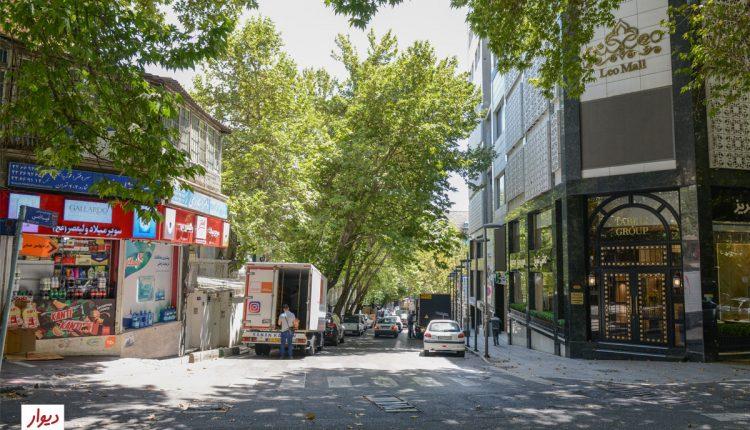 عکس خیابان فرشته تهران