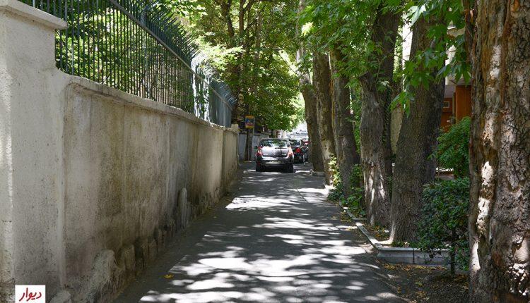 بافت قدیمی خیابان فرشته