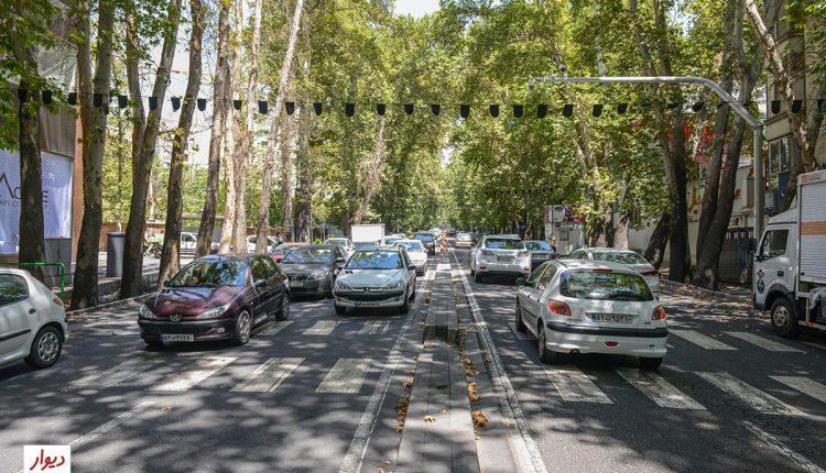 خیابان فرشته تهران
